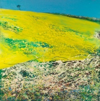 Oilseed rape & Blackthorn - Limited edition print