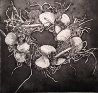 Marine Wreath - Aquatint