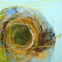 Nest 1 - Original oil painting